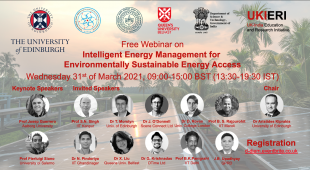 D-DIEM Workshop on Intelligent Sustainable Energy Management